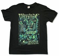 "BULLET FOR MY VALENTINE ""DIRTY LITTLE SECRET"" BLACK SLIM FIT T-SHIRT NEW ADULT"