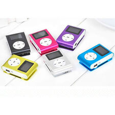Mini LCD Screen USB Clip MP3 Player Support Up To 2-8GB Micro SD TF Memory Card