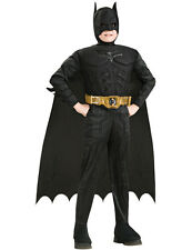 Child Deluxe Batman The Dark Knight Rises Superhero Fancy Dress Costume