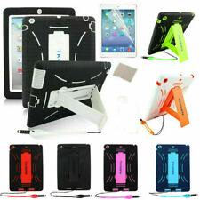 Hybrid Shockproof Duty Hard Case Stand Cover Skin Shell for iPad 4 3 2 Air