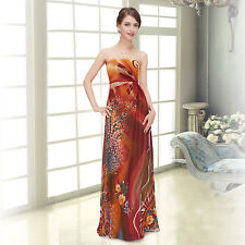 Ever Pretty Elegant Printed Sequins Long Prom Party Evening Dresses 08397 06-18