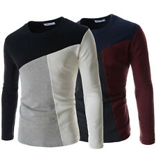 New!!!! Men's slim fit long sleeves round neck T-shirt (M-280)