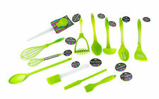 """Brights"" Green Silicone Kitchen Utensils - All You Need For The Kitchen"