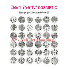 Born Pretty Nail Art Stamping Plates Stamp Template Image Stencil BP01-83