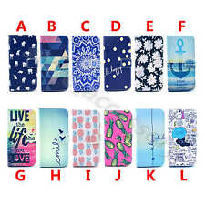 1Pc For Samsung Phone Popular PU Leather Card Pouch Wallet Stand Case Cover Skin