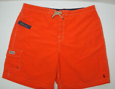 NWT $69 Polo Ralph Lauren Swim Cargo Board Shorts Suit Trunks Mens 3X 3XB  NEW