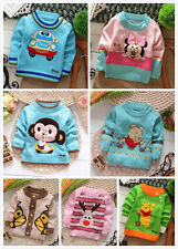 1PC baby  girls boys Long Sleeve sweater baby spring autumn winter clothing