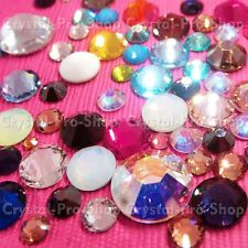8ss Genuine Swarovski Hotfix Iron On Rhinestone nail Crystal 2.5mm ss8 SATIN