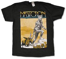 "MASTODON ""AUSTRALOPITHECUS"" BLACK T-SHIRT NEW OFFICIAL ADULT METAL BAND"