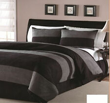 4PC HIGH QUALITY microsuede Goose Down alternative comforter set