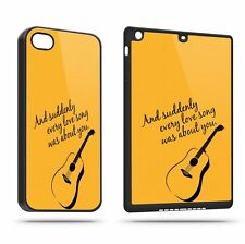 Suddenly Every Love Song About Guitar Phone Case Shell All Models Megalisting