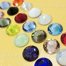 144 Genuine Swarovski ( NO Hotfix ) 34ss Crystal Rhinestone Multiple Colors ss34