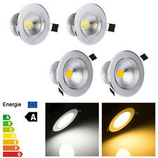 New Dimmable 3W 5W 7W 9W COB Led Down light Bulb Recessed Ceiling Lamp Spotlight