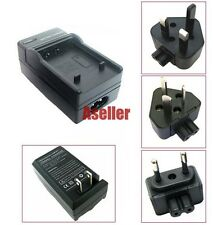 Battery Charger For Panasonic Lumix DMC-FS33 DMC-FS30 DMC-FS25 DMC-FS15 DMC-FS12