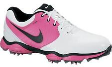 Nike Mens Lunar Control Golf Shoes - White/Pink - Medium Width - New - 552073127