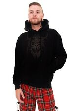 Tribal 1 Mens Hooded Top Rock Goth  by Omen Clothing