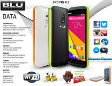 New Blu Studio Sport 4.5 S430U W-proof Unlocked GSM Android Phone