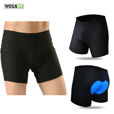 Mens Cycling Riding Underwear 3D Gel Padded Bike Bicycle Shorts Pants S-XXXL