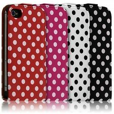 Housse Coque Etui Pour Apple iPhone 4/4S Motif à Points Couleur
