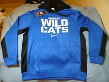 Nike Kentucky Wildcats LARGE, XXL BRAND NEW Hoodie SEC therma fit NWT 2XL blue