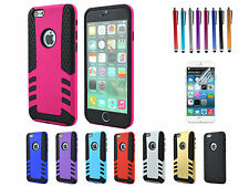 Rocket Cool Hybrid Rubber Impact Hard Case Cover Skin For iPhone 6 6 Plus 5 5S