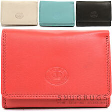 Ladies / Womens Soft Small Leather Purse with Multiple Credit Card Slots
