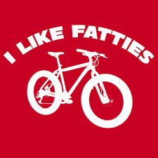 I LIKE FATTIES T Shirt fat bike Surly Norco Salsa Specialized bicycle enthusiast