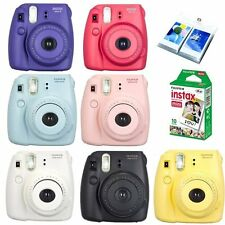 Fujifilm Instax Mini 8 Instant Camera Plus + Fuji White Mini Film + Photo Album