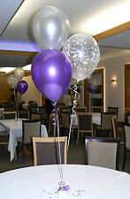 Engagement Balloons - 10 Table Decorations - Many Colours - DIY Kit