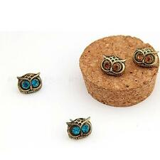 Vintage Cute Lovely Big Eye Owl Shape Earring Ear Stud Pin Earring Earrings