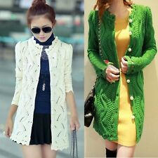 New Women Fashion Korean Knit Casual Tops Long Sleeve T Shirt Blouse Outwear A1