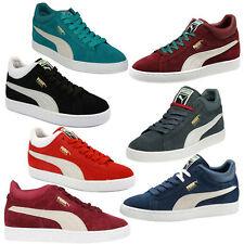 Puma Stepper Classic Mens Suede Trainers Lace Up Casual 355130