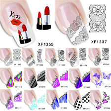 Womens French Nail Art DIY Design Manicure Tips Beauty Decoration Decal Stickers