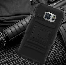 ShockProof Heavy Duty Defender Holster Belt Clip Case Cover For Samsung Galaxy