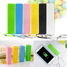 18650 USB Power Bank External Battery Charger Keychain Case for Mobile Phone