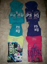 P.S. AEROPOSTALE NY 3 PC ACTIVE SET HOODIE TOP & PANTS OUTFIT GIRLS SZ 8 10 12