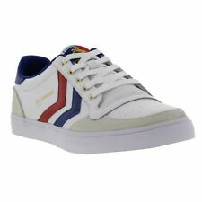 New Hummel Stadil Low Leather 63664 Mens Classic Trainers Shoes Size UK 7-14