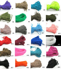New 300ft Paracord Rope 7 strand Parachute Cord Survival Climbing Color Pick