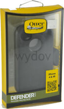 OtterBox Defender Series Case and Holster for iPhone 4/4S Black New Screen Prot
