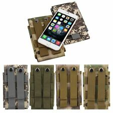 Universal Army Camo Bag For Cellphone Hook Loop Belt Pouch Holster Case Cover ZY