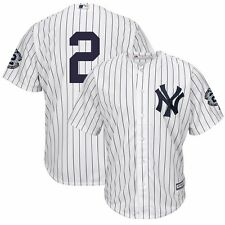 2015 Derek Jeter New York Yankees Home Cool Base Jersey w/ Retirement Patch Men
