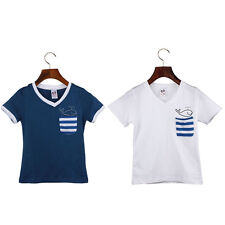 Children Boy Kids T Shirt Cotton Dolphin Short Sleeve Tops Shirt Tees Clothes