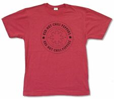 "RED HOT CHILI PEPPERS ""LA 1983"" RED T-SHIRT NEW OFFICIAL RHCP"