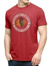 Chicago Blackhawks 2015 NHL Stanley Cup Champions 47 Brand Red Scrum T-Shirt