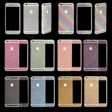 Diamond Glitter Bling Decals Sticker Protector Case For iPhone & Samsung Galaxy