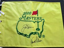 ARNOLD PALMER & JACK NICKLAUS SIGNED FLAG COA + PROOF! U.S. OPEN MASTERS
