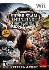 REMINGTON SUPER SLAM HUNTING: NORTH AMERICA NINTENDO Wii GAME COMPLETE