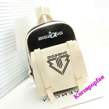 BIGBANG G-DRAGON TAEYANG SEUNGRI BACKPACK SCHOOLBAG PU BAG New Kpop New