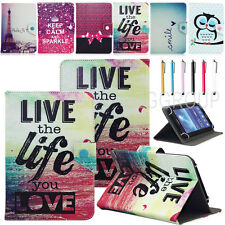 "USA Stock Universal Lovely Pattern PU Leather Case Cover For 7"" 7.9"" 8'' Tablet"