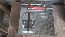 Radio Shack rechargeable wireless headphones,new in box